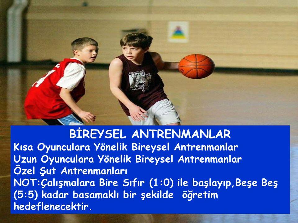 BİREYSEL ANTRENMANLAR