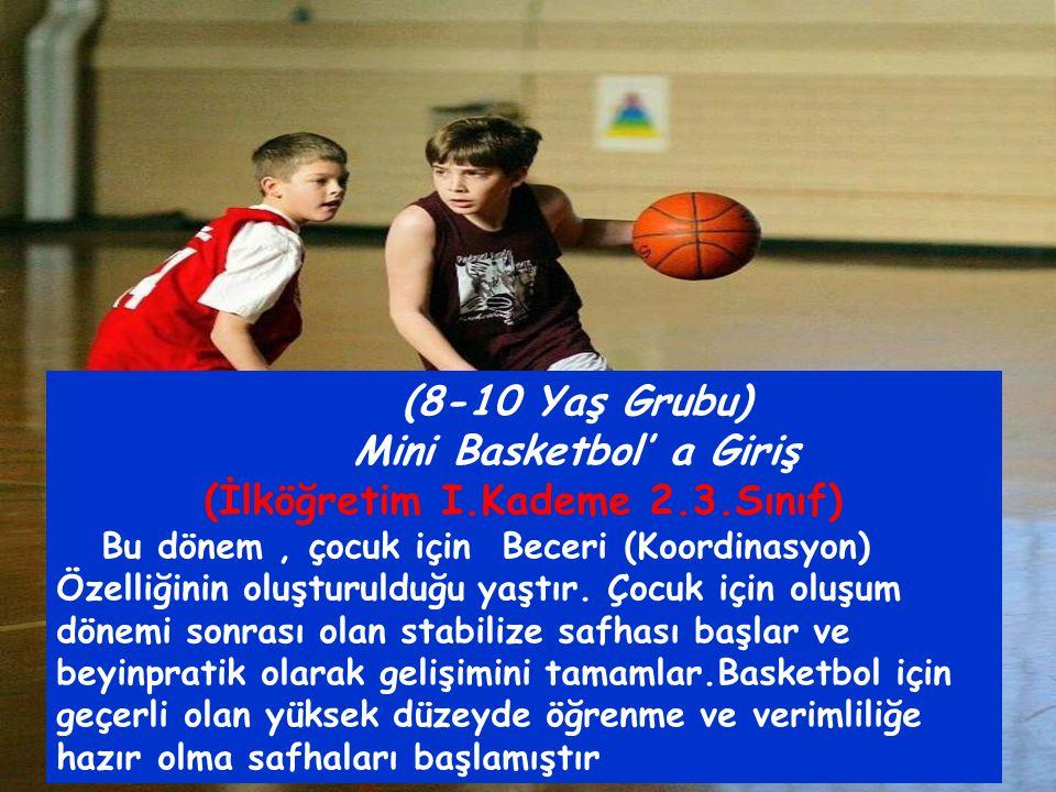 Mini Basketbol' a Giriş (İlköğretim I.Kademe 2.3.Sınıf)