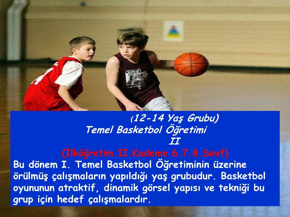 Temel Basketbol Öğretimi (İlköğretim II.Kademe 6.7.8.Sınıf)