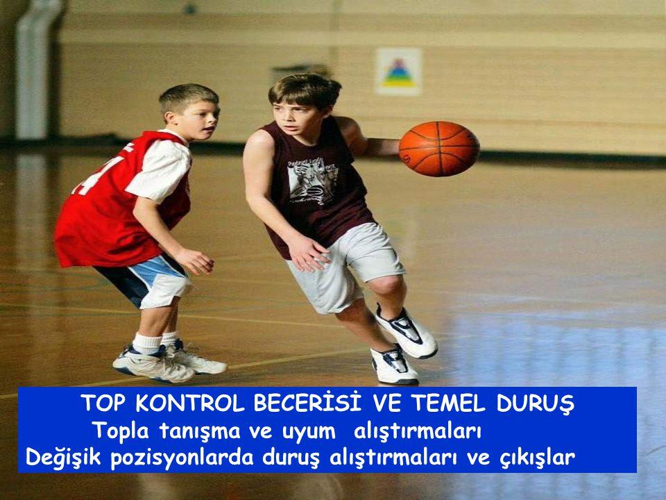 TOP KONTROL BECERİSİ VE TEMEL DURUŞ