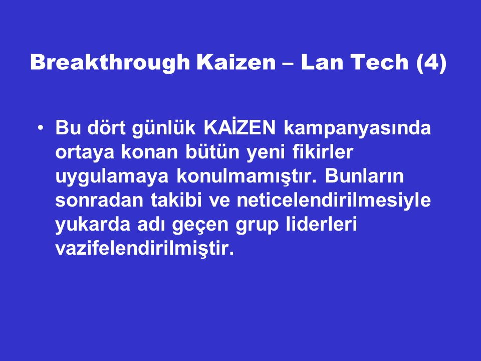 Breakthrough Kaizen – Lan Tech (4)