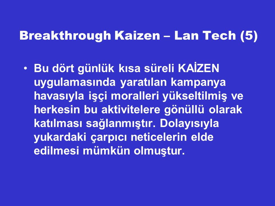 Breakthrough Kaizen – Lan Tech (5)