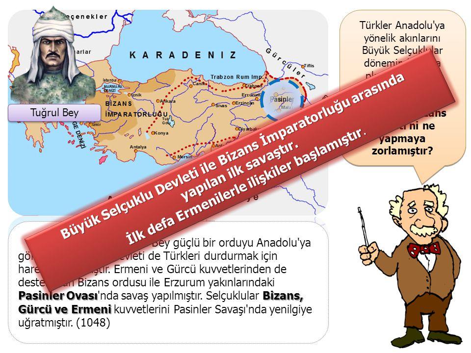 Büyük Selçuklu Devleti ile Bizans İmparatorluğu arasında