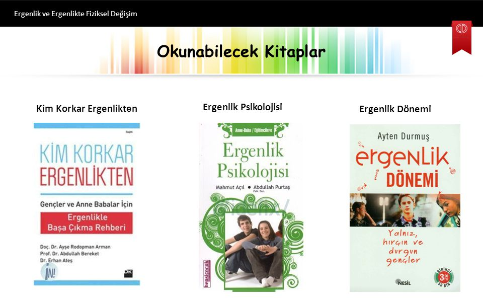 Okunabilecek Kitaplar