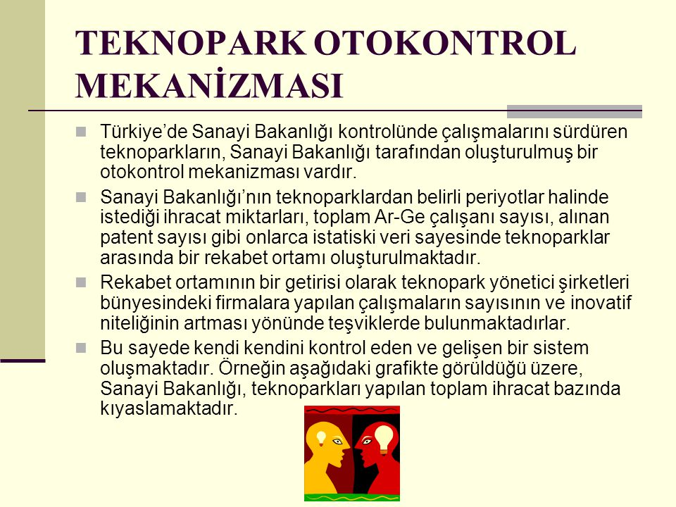 TEKNOPARK OTOKONTROL MEKANİZMASI