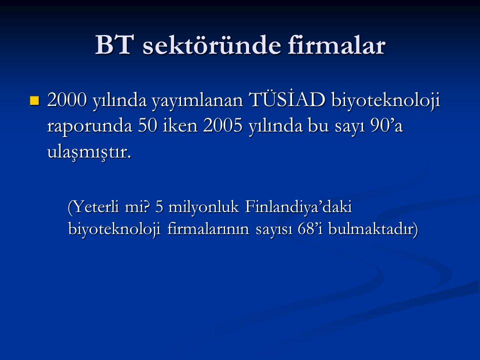 BT sektöründe firmalar