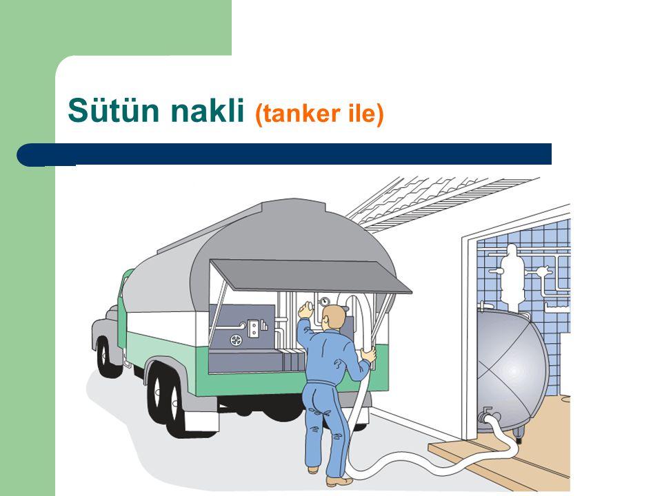 Sütün nakli (tanker ile)