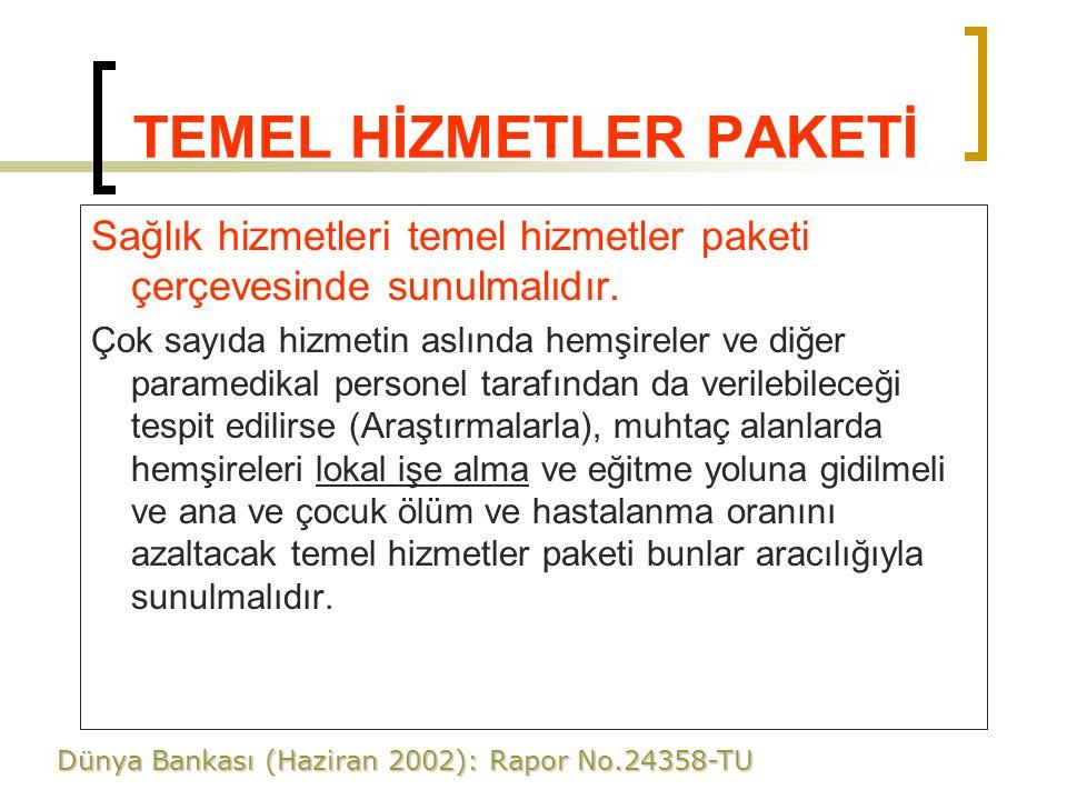 TEMEL HİZMETLER PAKETİ