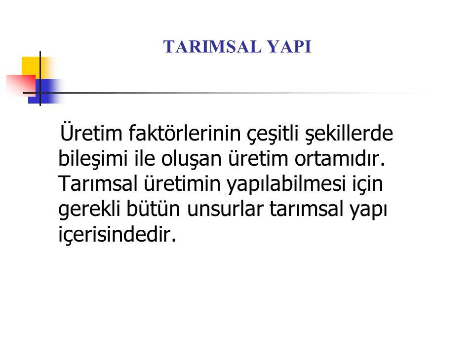 TARIMSAL YAPI