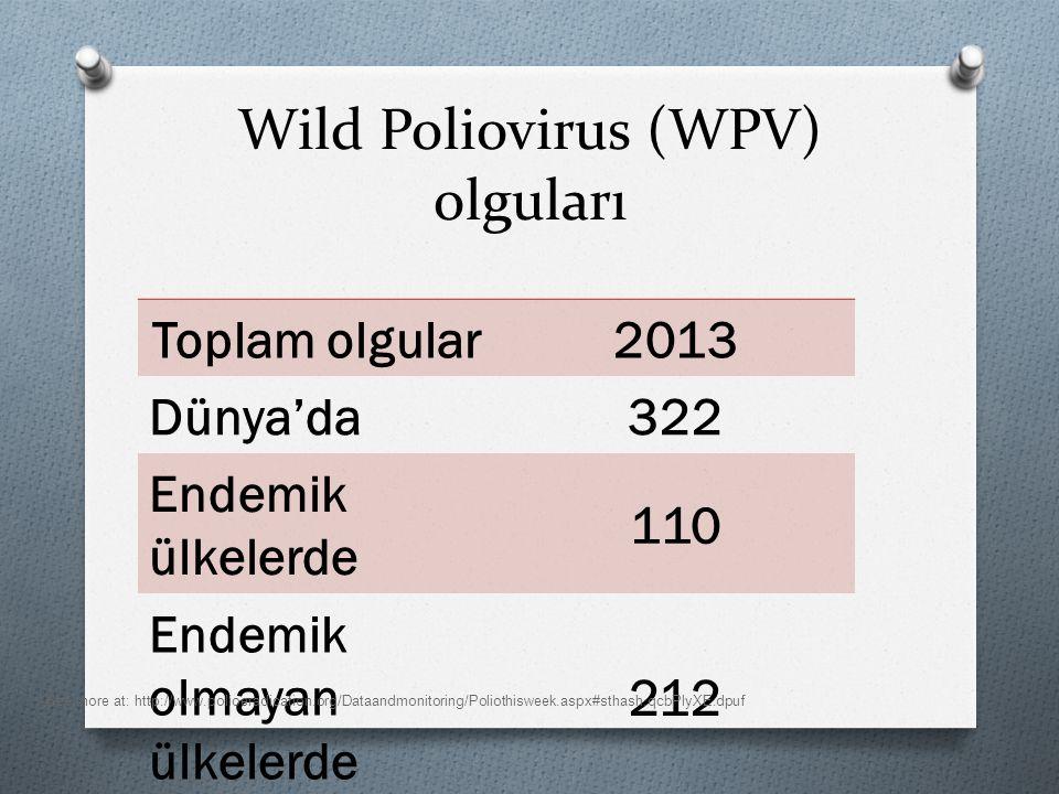 Wild Poliovirus (WPV) olguları