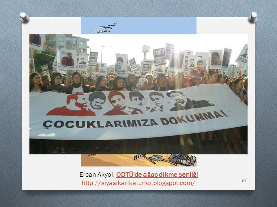 Ercan Akyol, ODTÜ de ağaç dikme şenliği