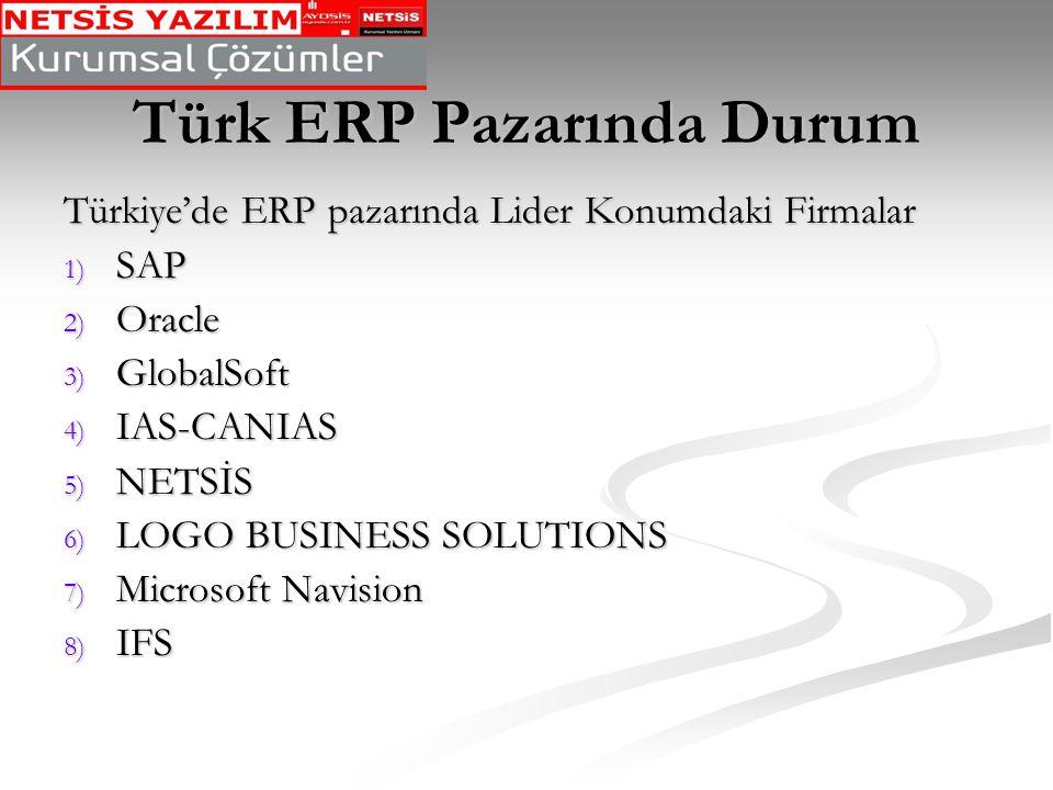 Türk ERP Pazarında Durum