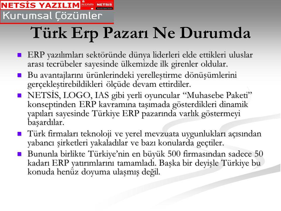 Türk Erp Pazarı Ne Durumda