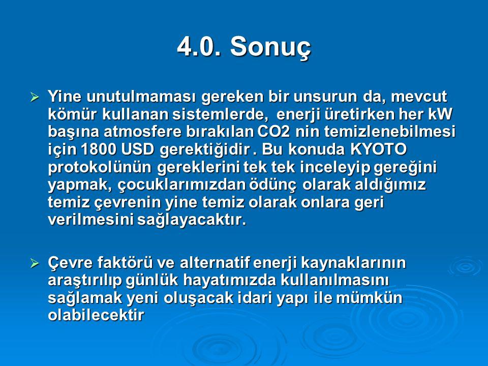 4.0. Sonuç