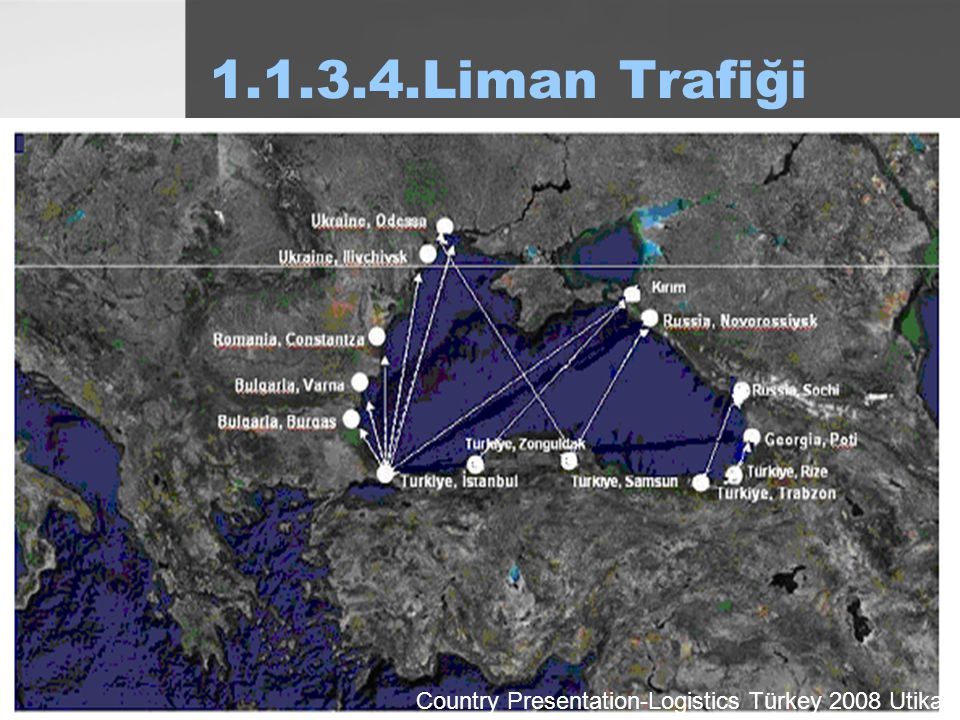 1.1.3.4.Liman Trafiği Country Presentation-Logistics Türkey 2008 Utikat