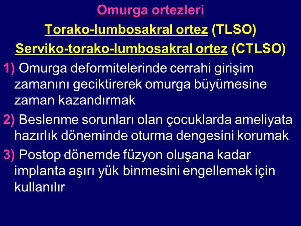 Torako-lumbosakral ortez (TLSO)