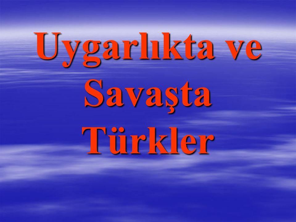 Uygarlıkta ve Savaşta Türkler