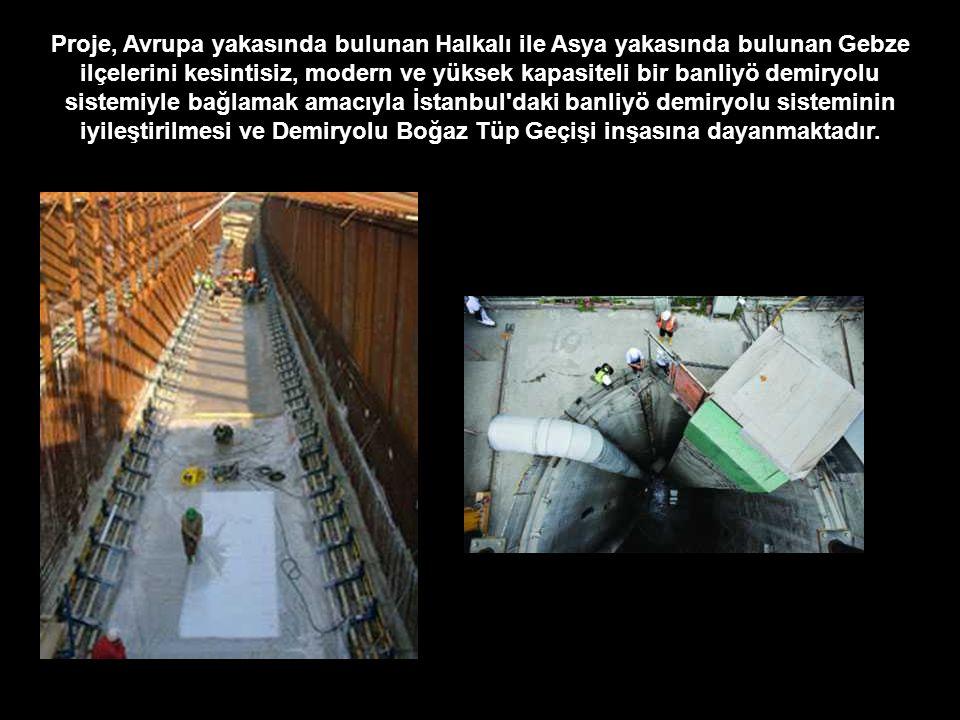 Proje, Avrupa yakasında bulunan Halkalı ile Asya yakasında bulunan Gebze ilçelerini kesintisiz, modern ve yüksek kapasiteli bir banliyö demiryolu sistemiyle bağlamak amacıyla İstanbul daki banliyö demiryolu sisteminin iyileştirilmesi ve Demiryolu Boğaz Tüp Geçişi inşasına dayanmaktadır.