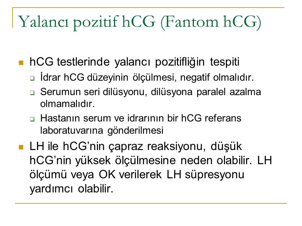 Yalancı pozitif hCG (Fantom hCG)