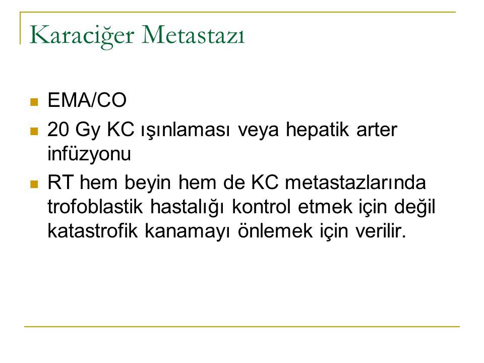 Karaciğer Metastazı EMA/CO