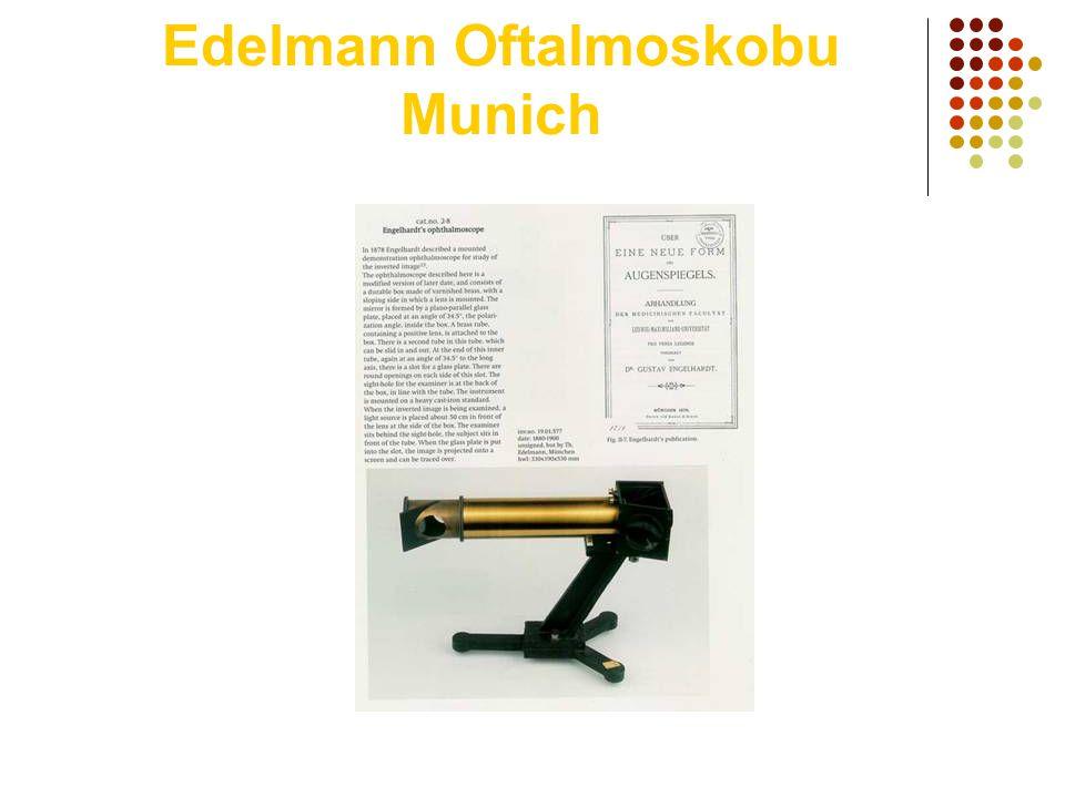Edelmann Oftalmoskobu Munich