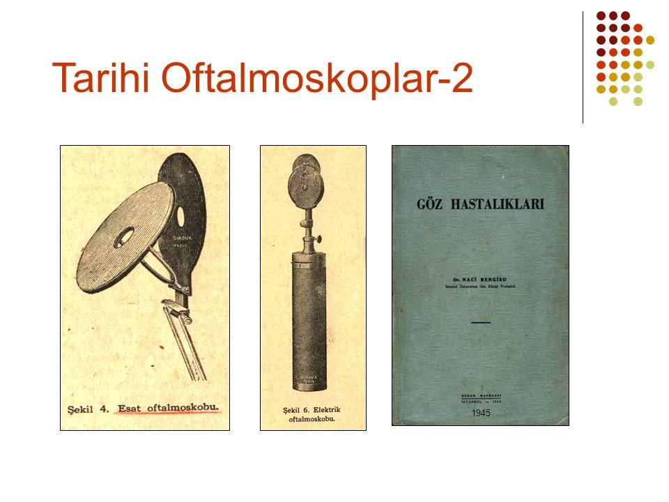 Tarihi Oftalmoskoplar-2
