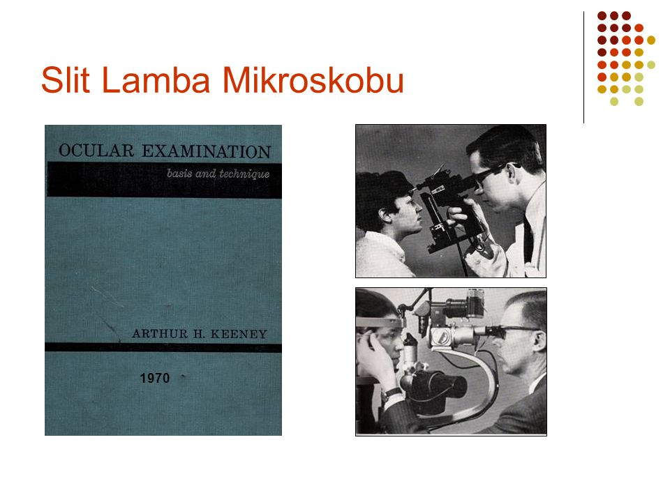Slit Lamba Mikroskobu 1970