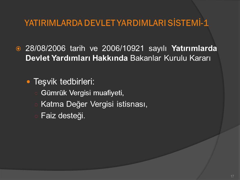 YATIRIMLARDA DEVLET YARDIMLARI SİSTEMİ-1