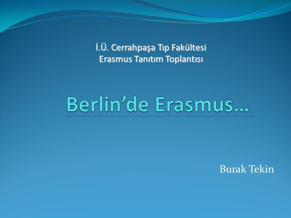 İ.Ü. Cerrahpaşa Tıp Fakültesi Erasmus Tanıtım Toplantısı