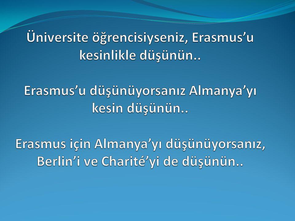 Üniversite öğrencisiyseniz, Erasmus'u kesinlikle düşünün