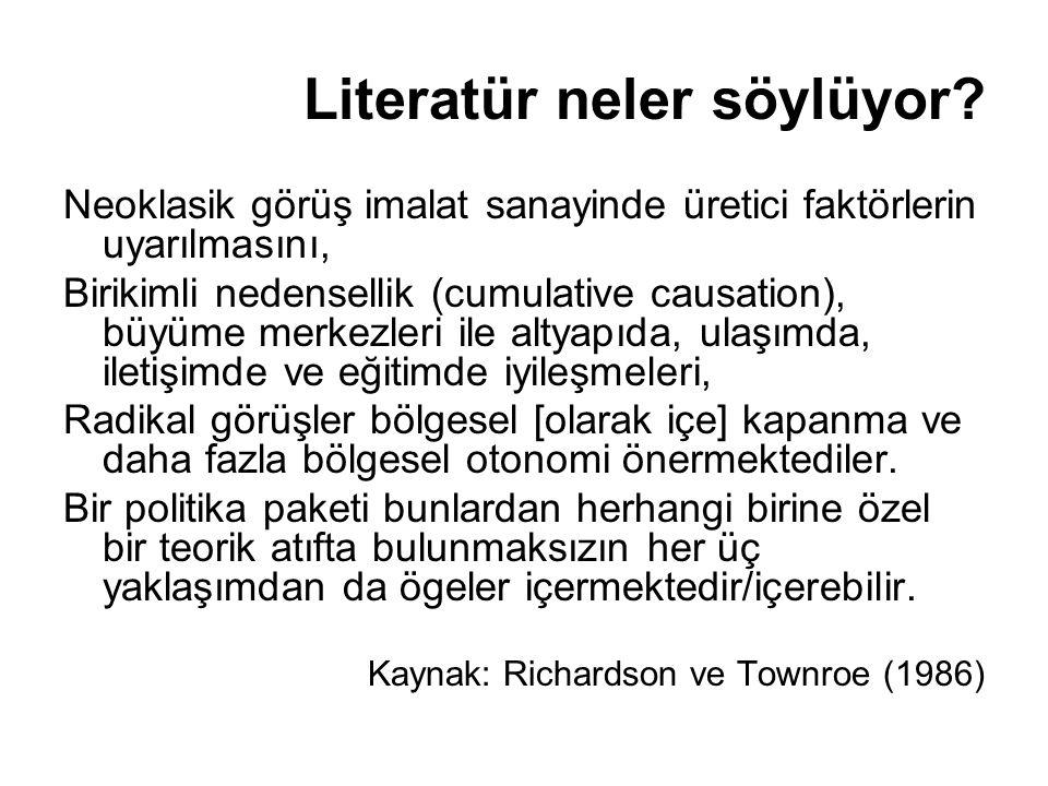 Literatür neler söylüyor