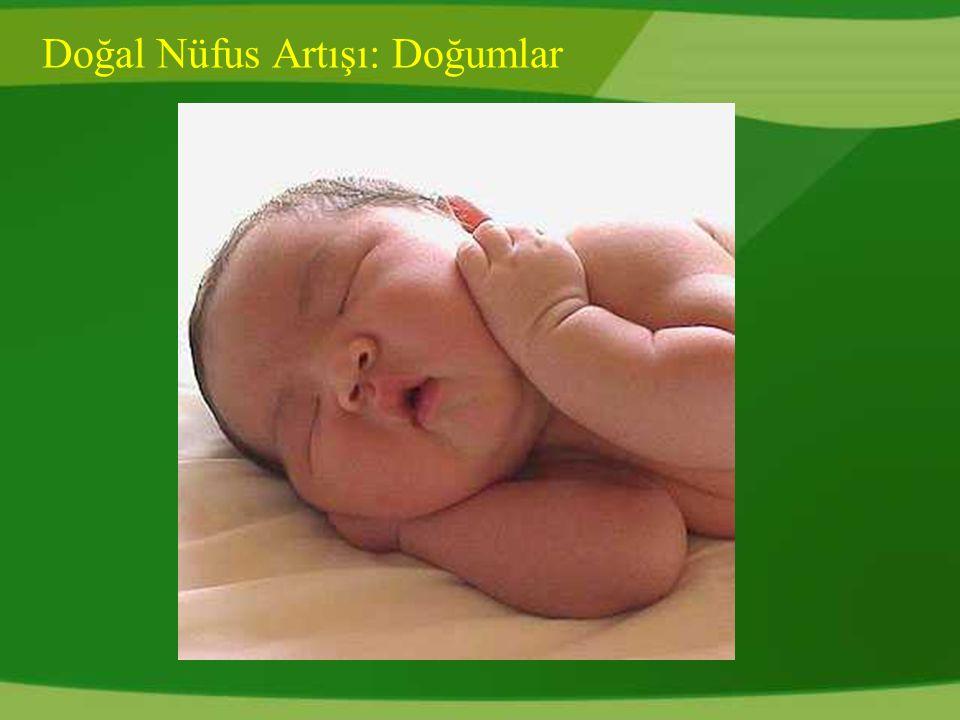 Doğal Nüfus Artışı: Doğumlar