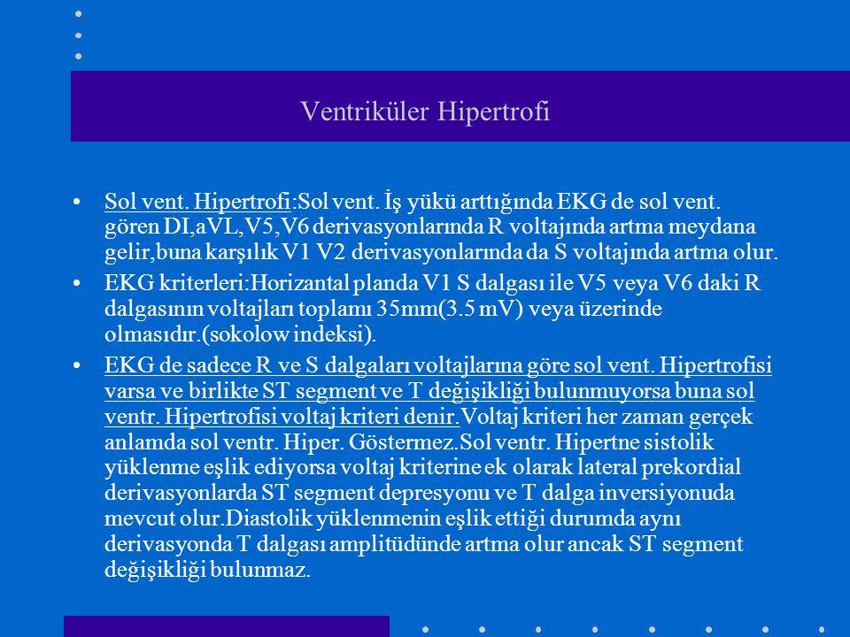 Ventriküler Hipertrofi