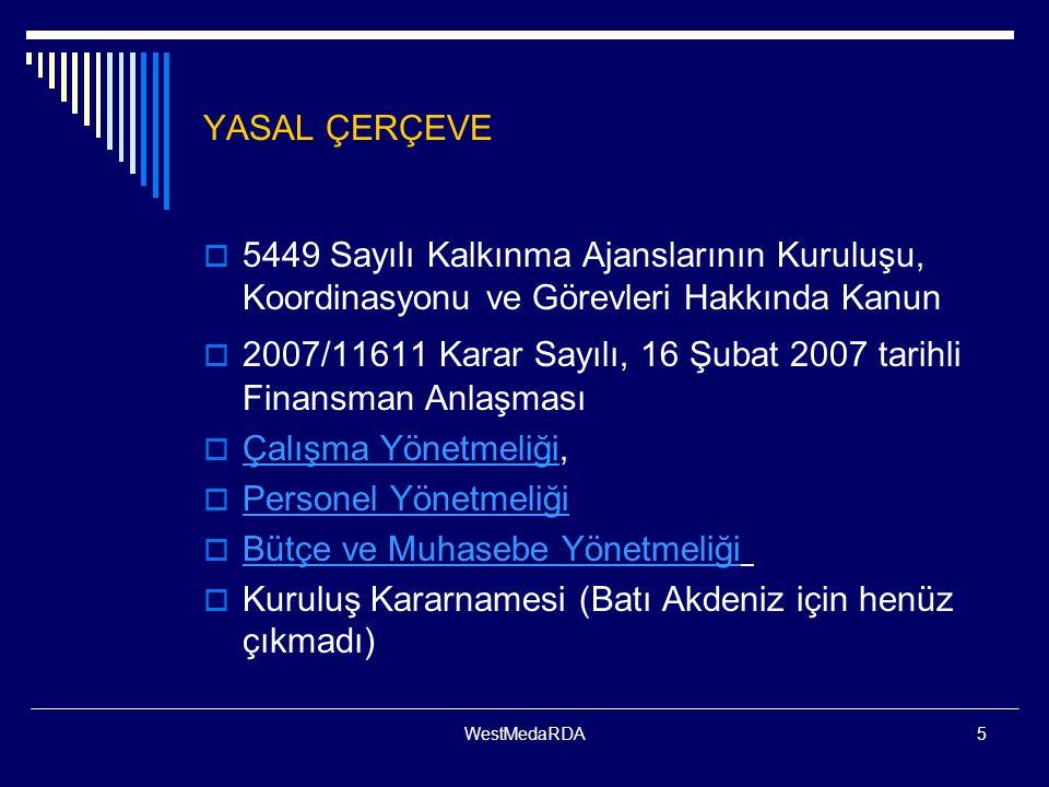2007/11611 Karar Sayılı, 16 Şubat 2007 tarihli Finansman Anlaşması