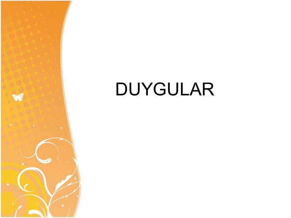 DUYGULAR