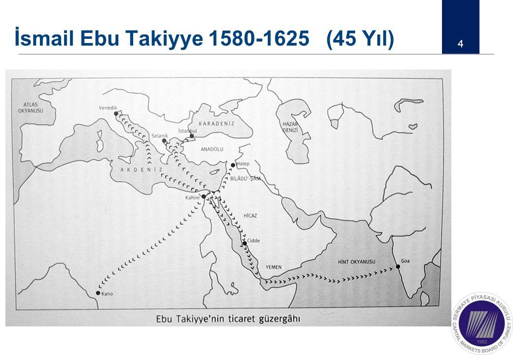 İsmail Ebu Takiyye 1580-1625 (45 Yıl)