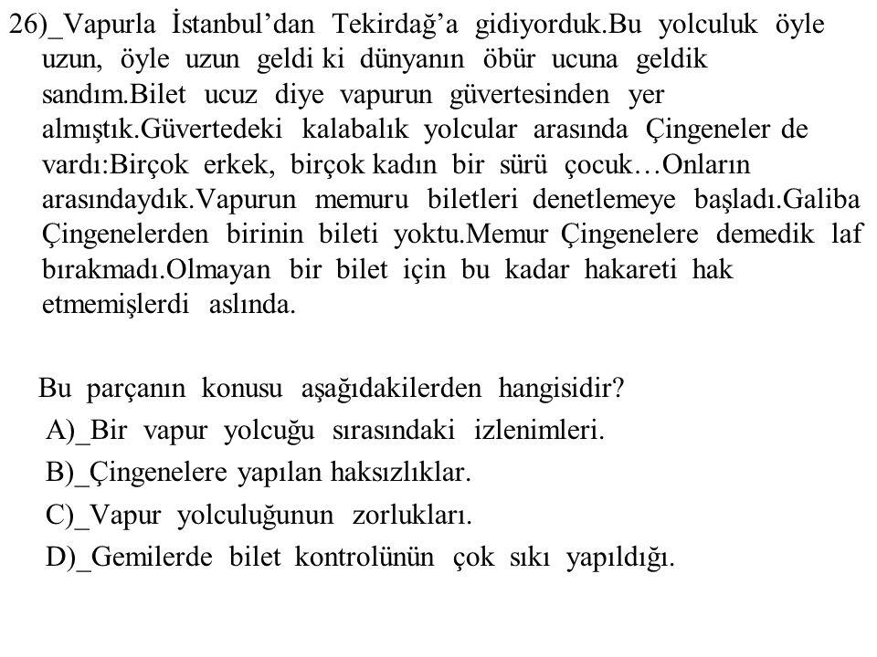 26)_Vapurla İstanbul'dan Tekirdağ'a gidiyorduk
