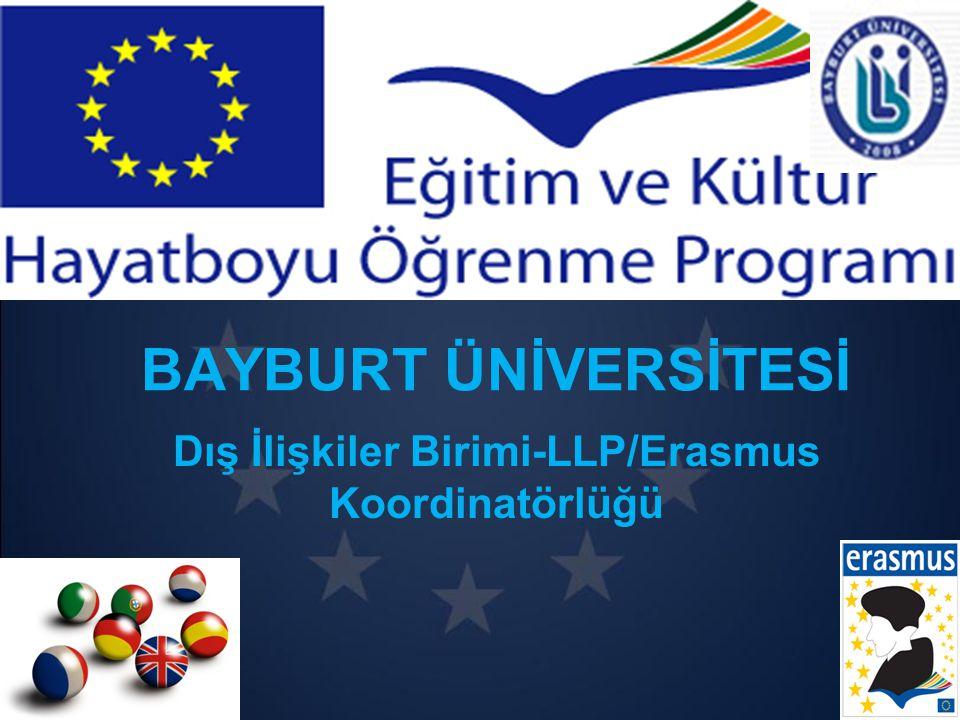 Dış İlişkiler Birimi-LLP/Erasmus Koordinatörlüğü