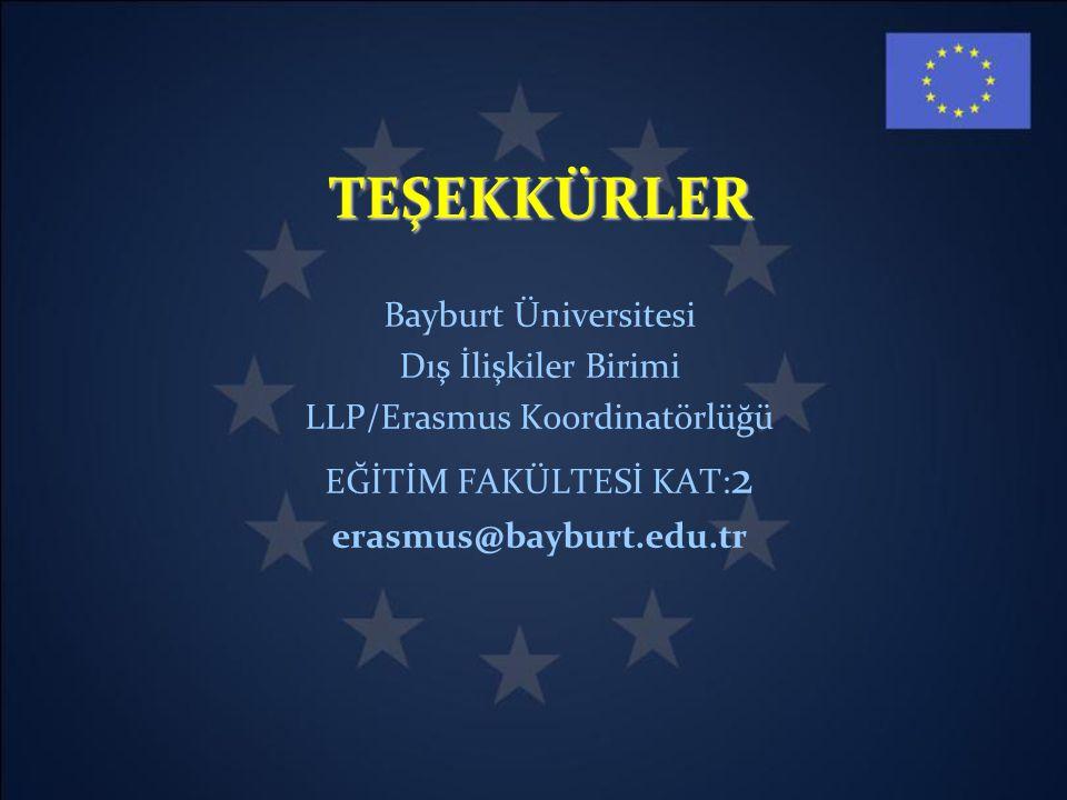LLP/Erasmus Koordinatörlüğü