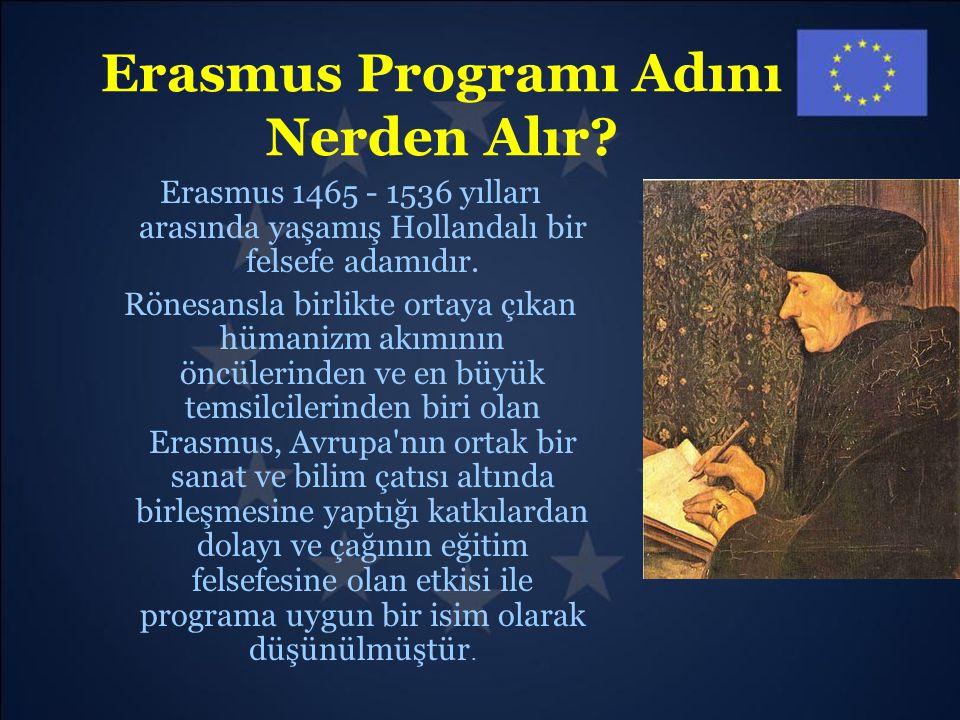 Erasmus Programı Adını Nerden Alır