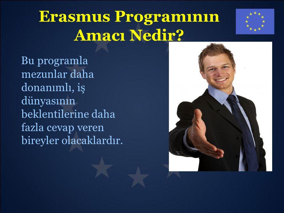 Erasmus Programının Amacı Nedir