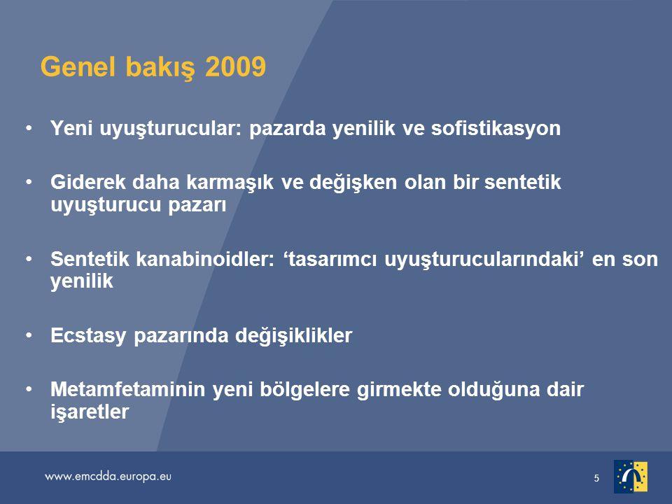 Genel bakış 2009 Yeni uyuşturucular: pazarda yenilik ve sofistikasyon