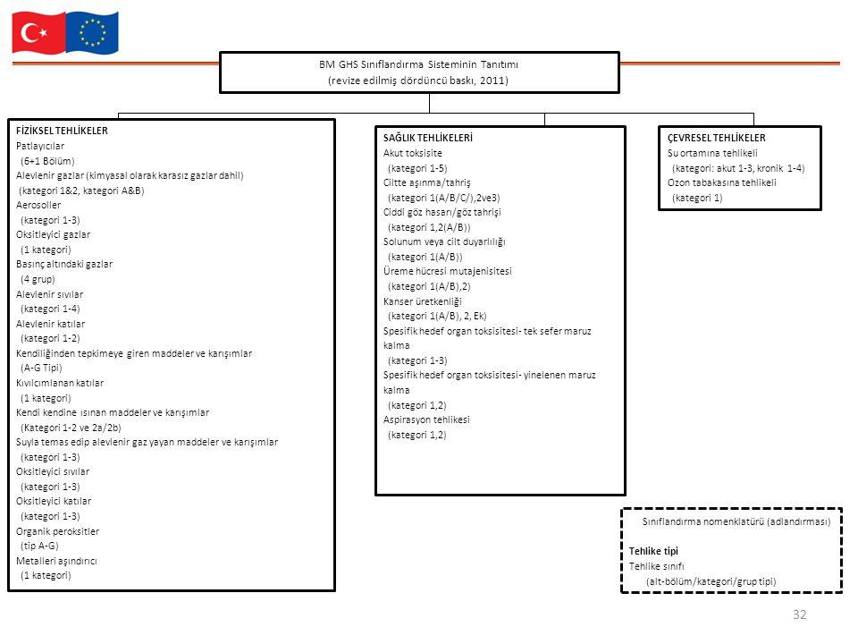 BM GHS Sınıflandırma Sisteminin Tanıtımı