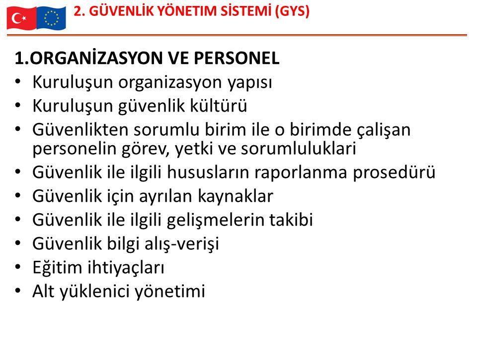2. GÜVENLİK YÖNETIM SİSTEMİ (GYS)