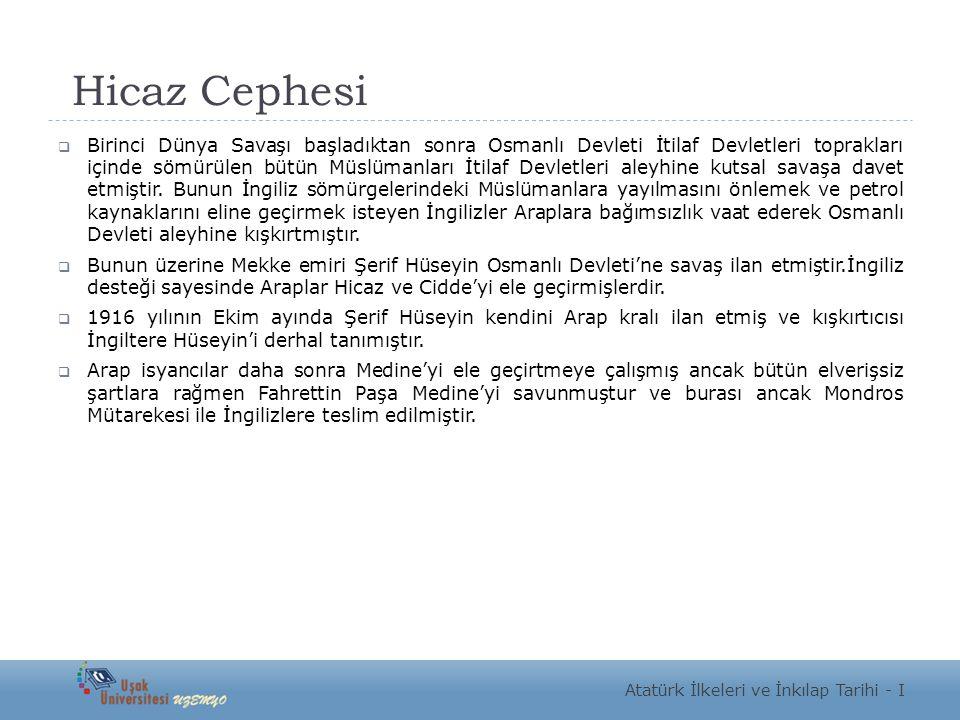 Hicaz Cephesi