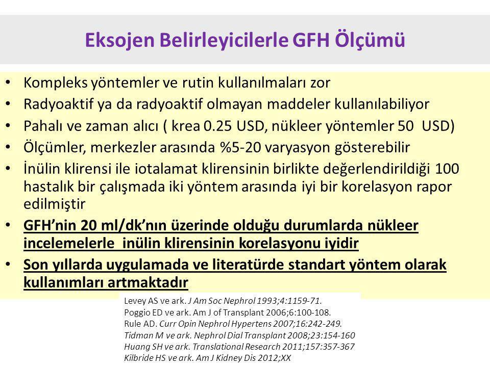 Eksojen Belirleyicilerle GFH Ölçümü