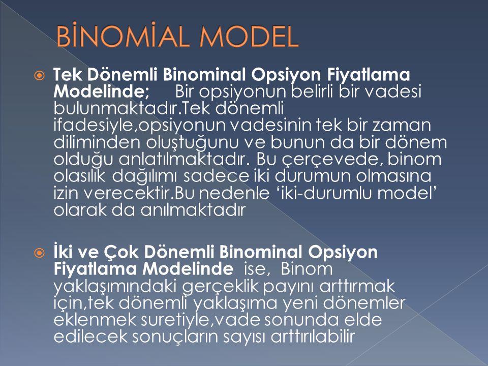 BİNOMİAL MODEL