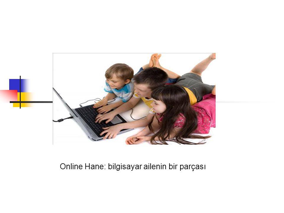 Online Hane: bilgisayar ailenin bir parçası