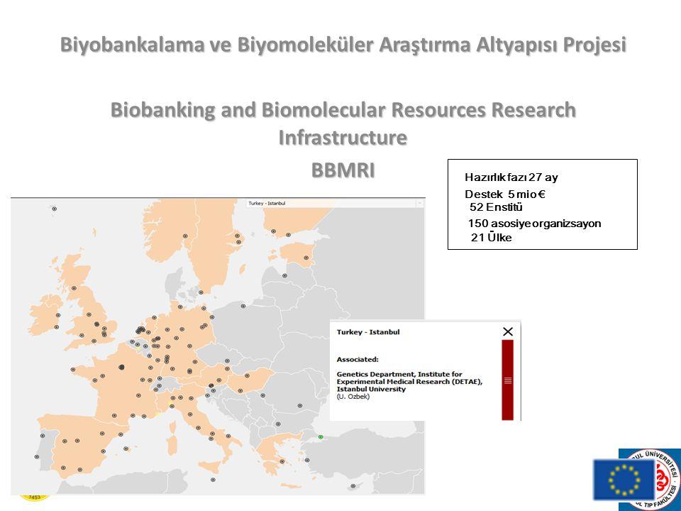 Biyobankalama ve Biyomoleküler Araştırma Altyapısı Projesi
