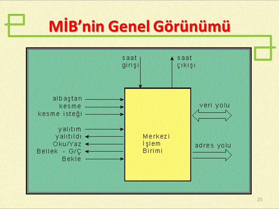 MİB'nin Genel Görünümü